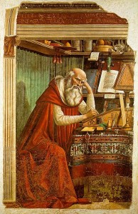 Domenico Ghirlandaio, St. Jerome in his Study.